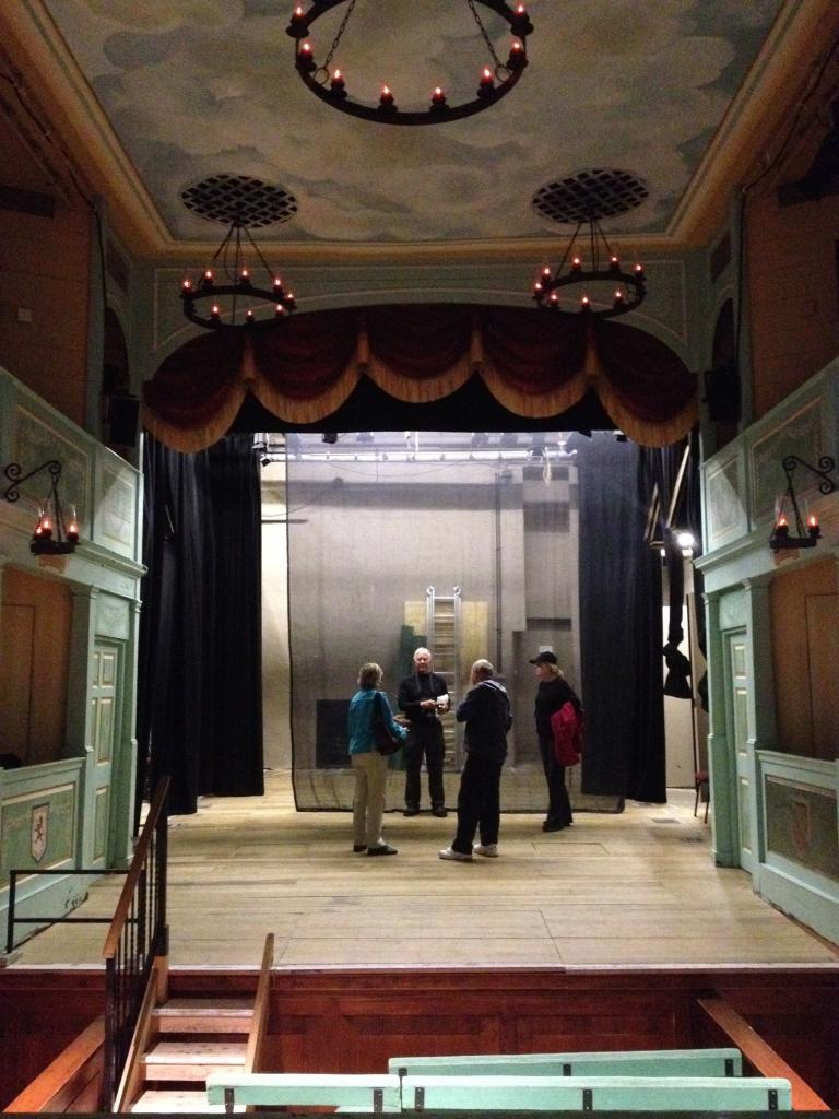 Georgian Theatre Royal, Britain's oldest working theatre.