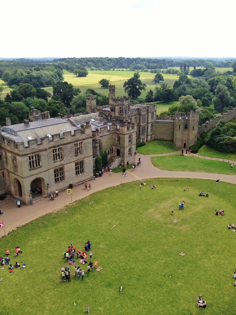 Warwick Castle-a great day out with the big and small kids.
