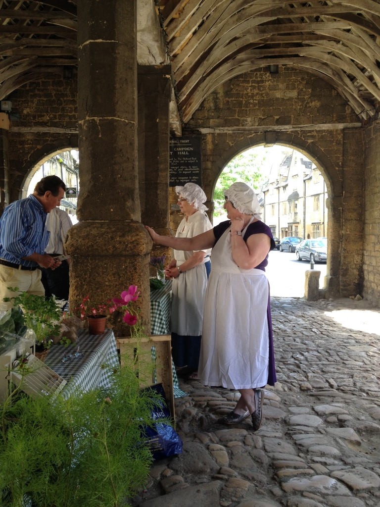 Weekly market in Chipping Camden