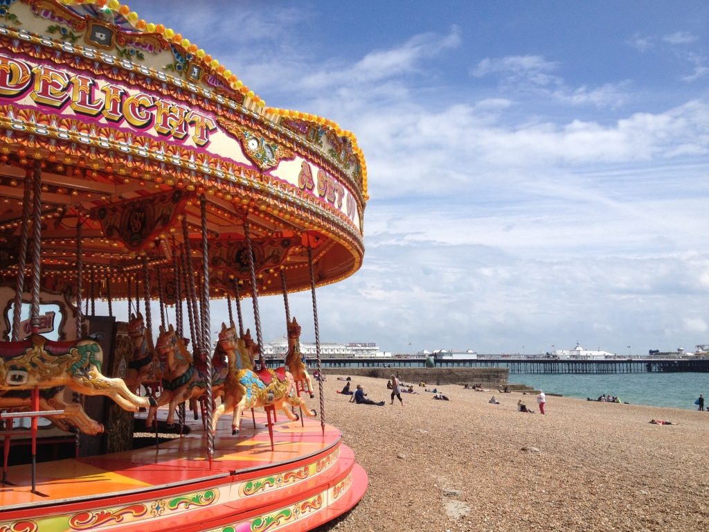 Perfect day out in England? Head to the colourful seaside resort of Brighton