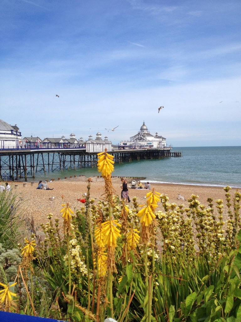 The beautiful pier of Eastbourne that was sadly destroyed in a terrible fire 2 months ago.