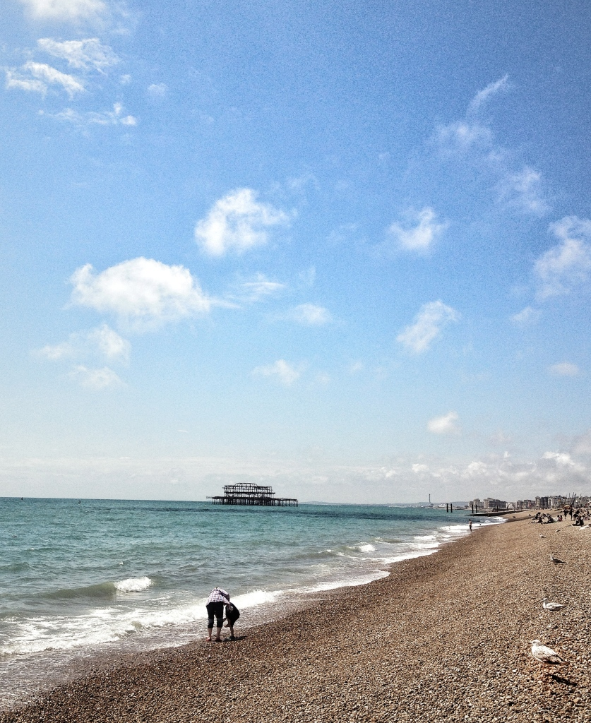 Visit to the classic victorian seaside town of Brighton is a must on any English roadtrip