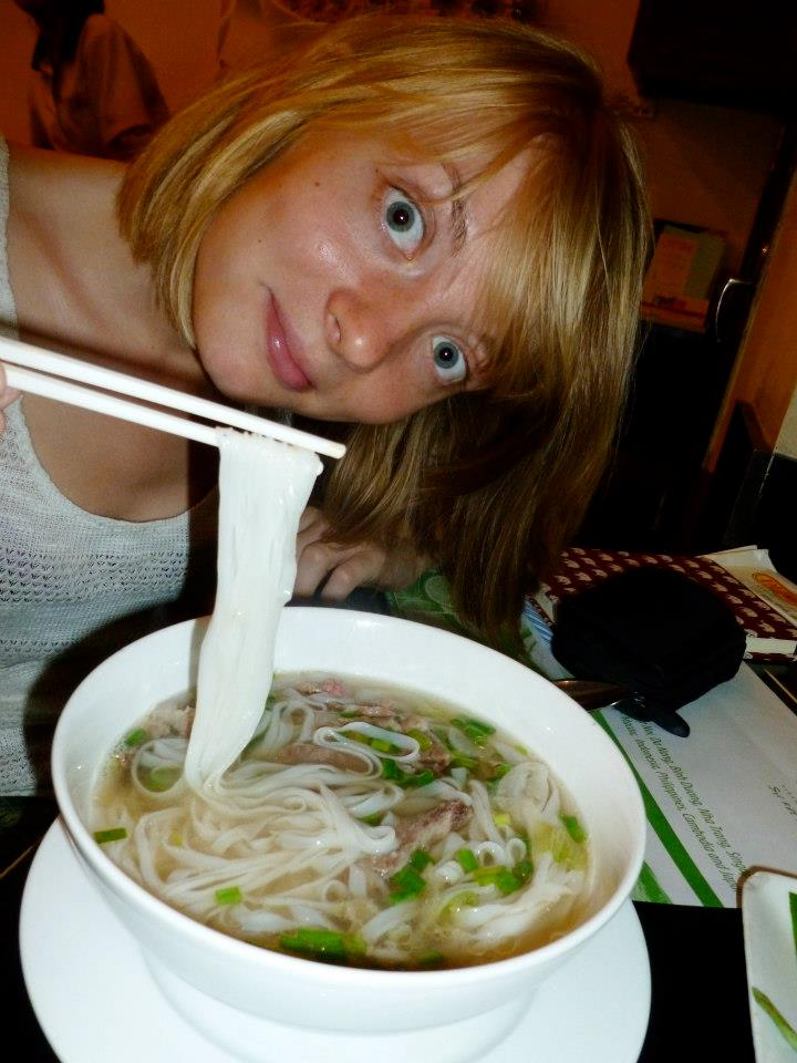 A delicious bowl of pho