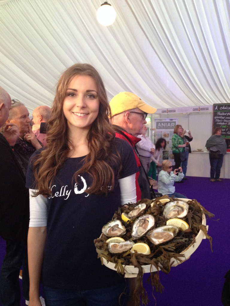 The Oyster Queen!