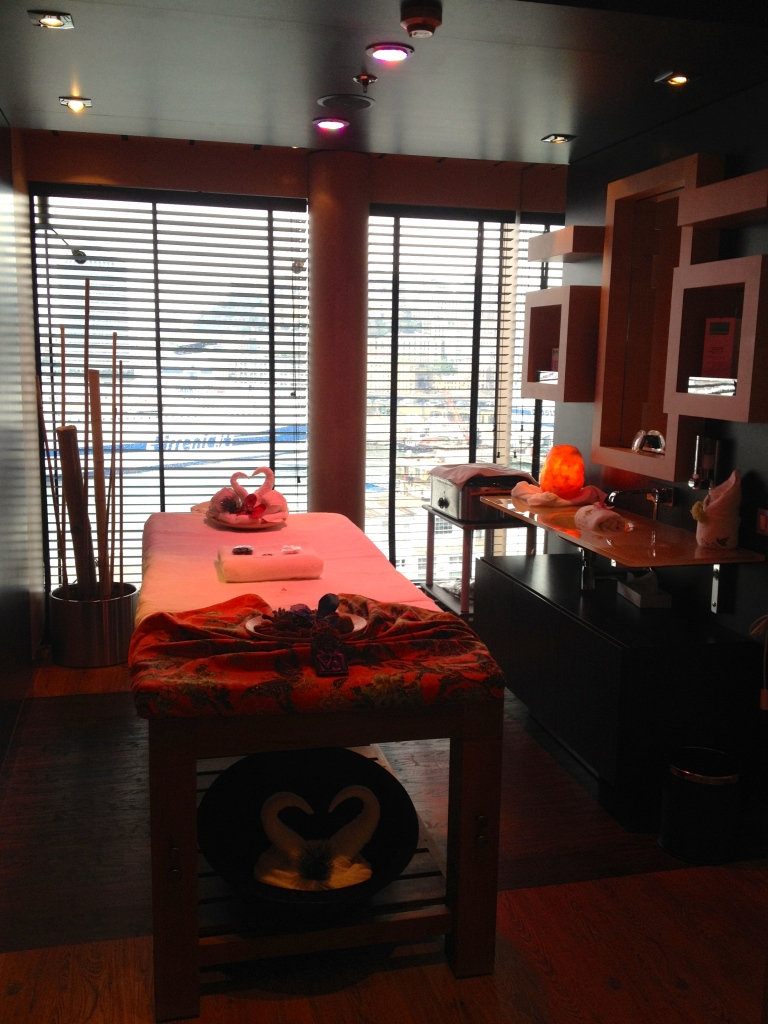 Balinese massage at the Spa