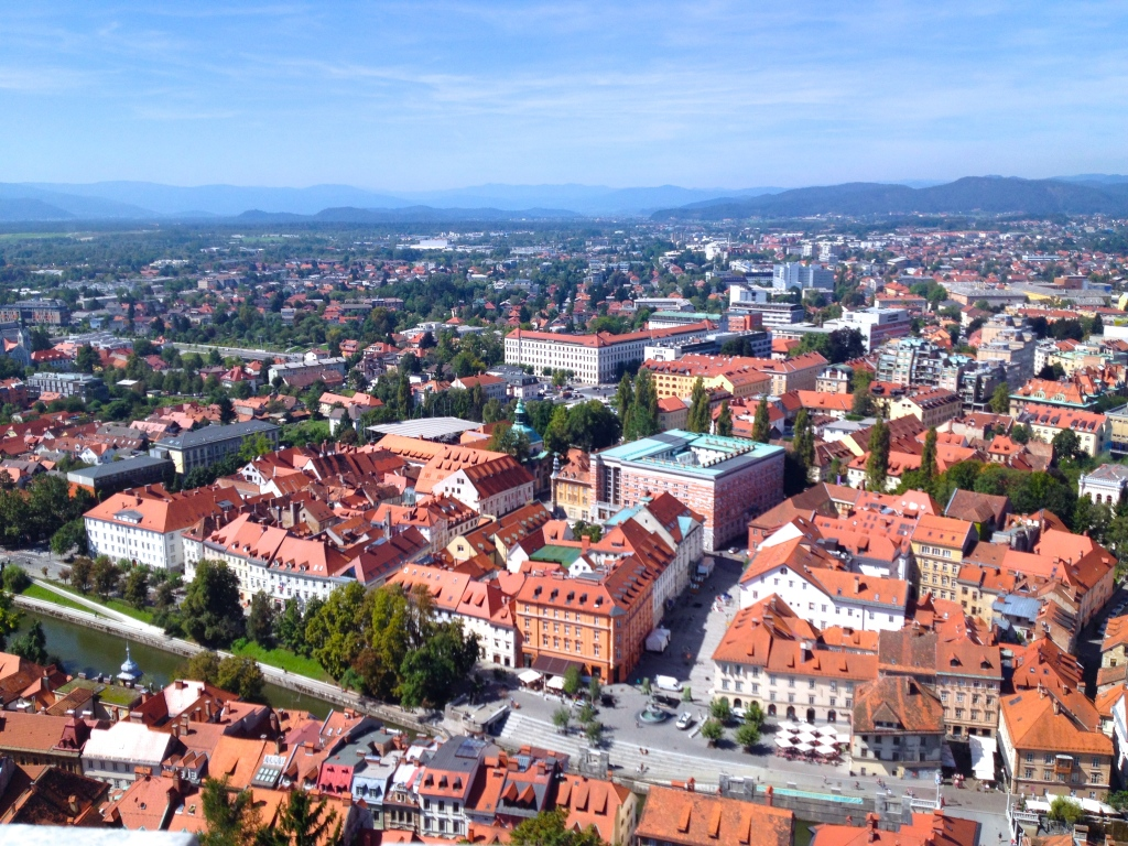 Ljubljana- one of the greatest cities in Europe