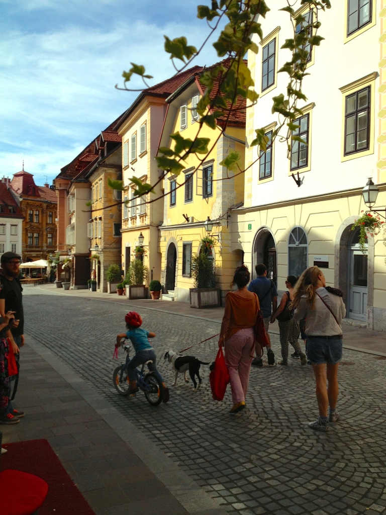 Old Town of Ljubljana: very pedestrian friendly