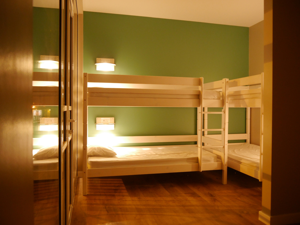4 Bed Dorm, Wombats City Hostel, London