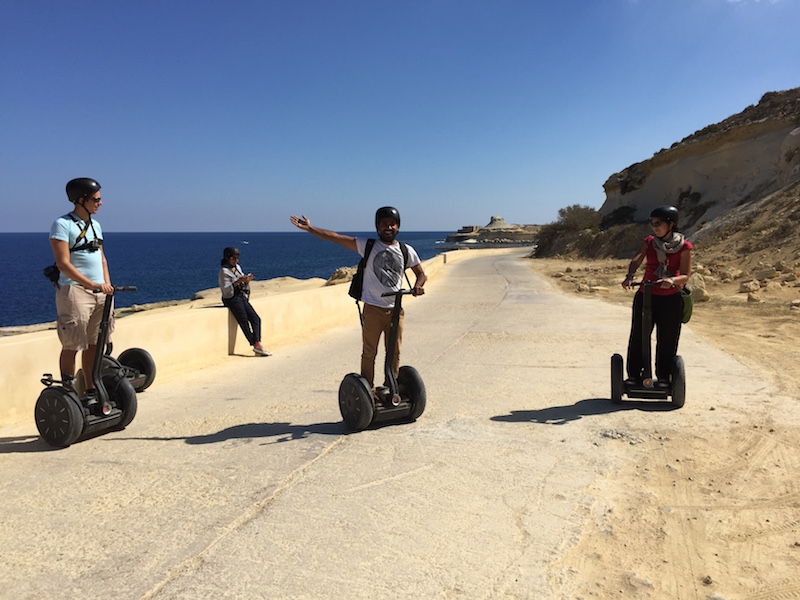 Segway tour of Gozo with Gozo Segway Tours: Fun!