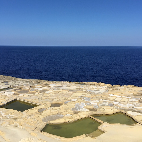 saltpans of gozo