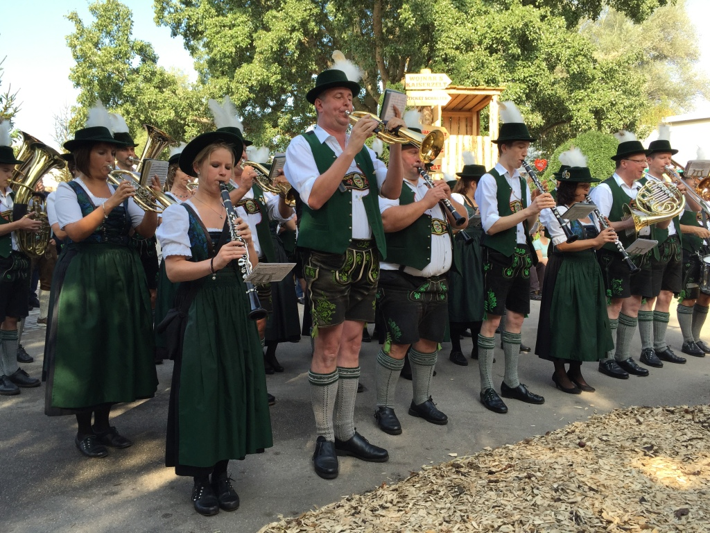 A whiff of nostalgia: Brass bands at Wiener Wiesn