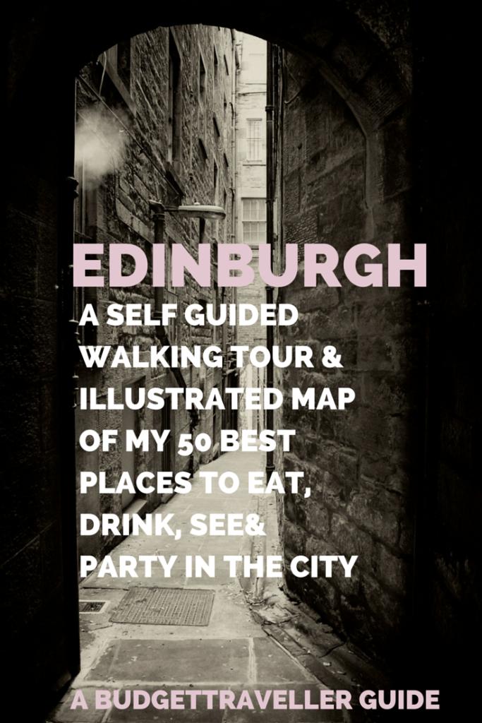self guided free walking tour of edinburgh