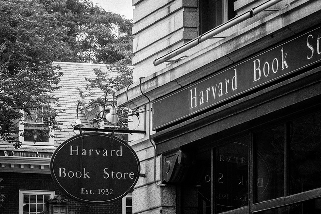 Harvard Book Store: one of the treasures you can discover in Harvard Square