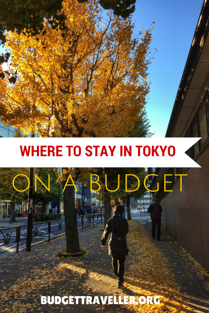 Where to stay in Tokyo on a budget