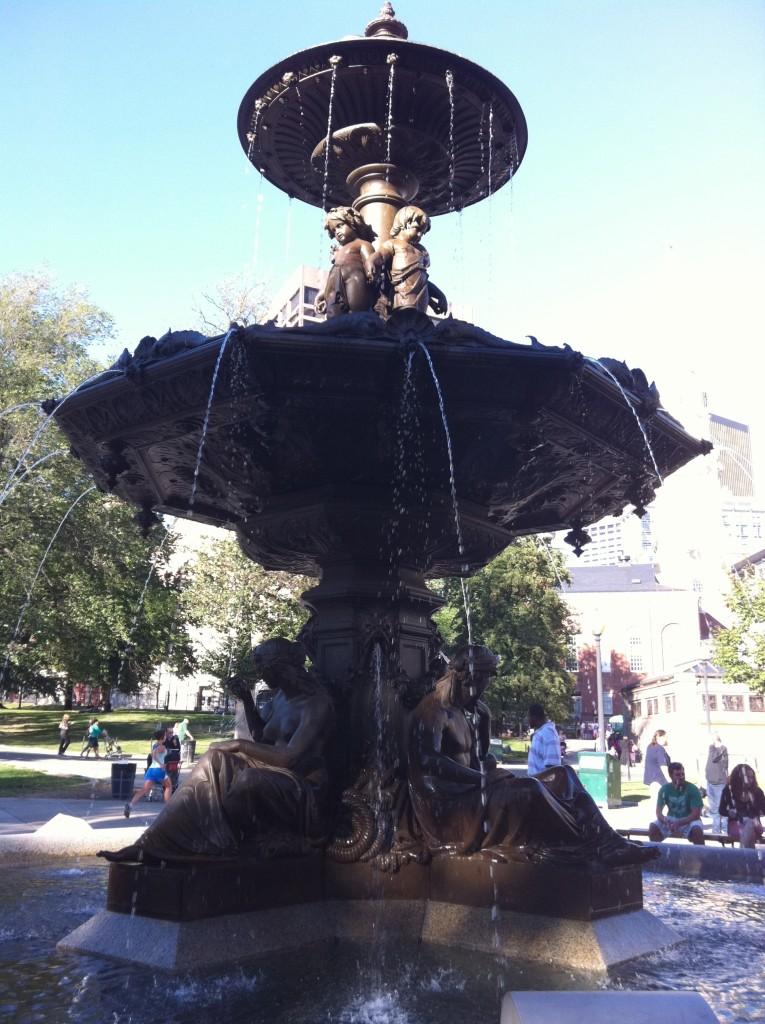 Brewer Fountain, Boston Common