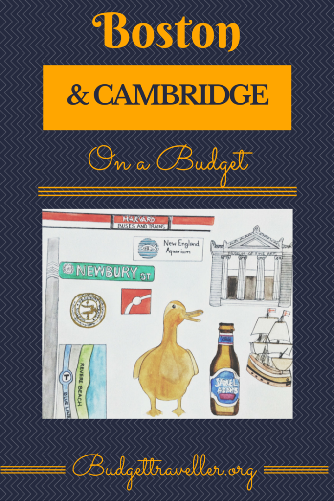Boston & Cambridge on a budget