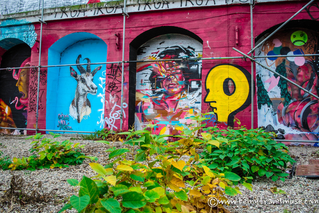 Street art scene in Berlin is fantastic