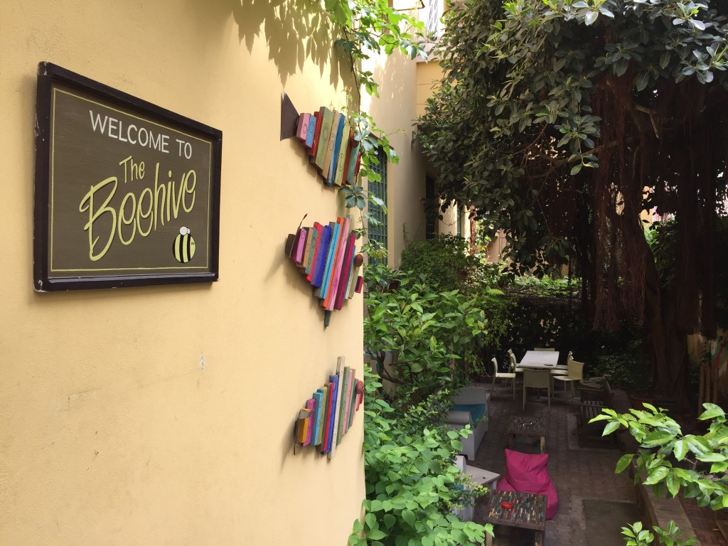 The Beehive Hostel/Hotel has an unbeatable location right in front of Rome's main Termini station.