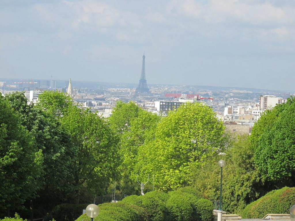 Parc de Belleville: come here for the view..