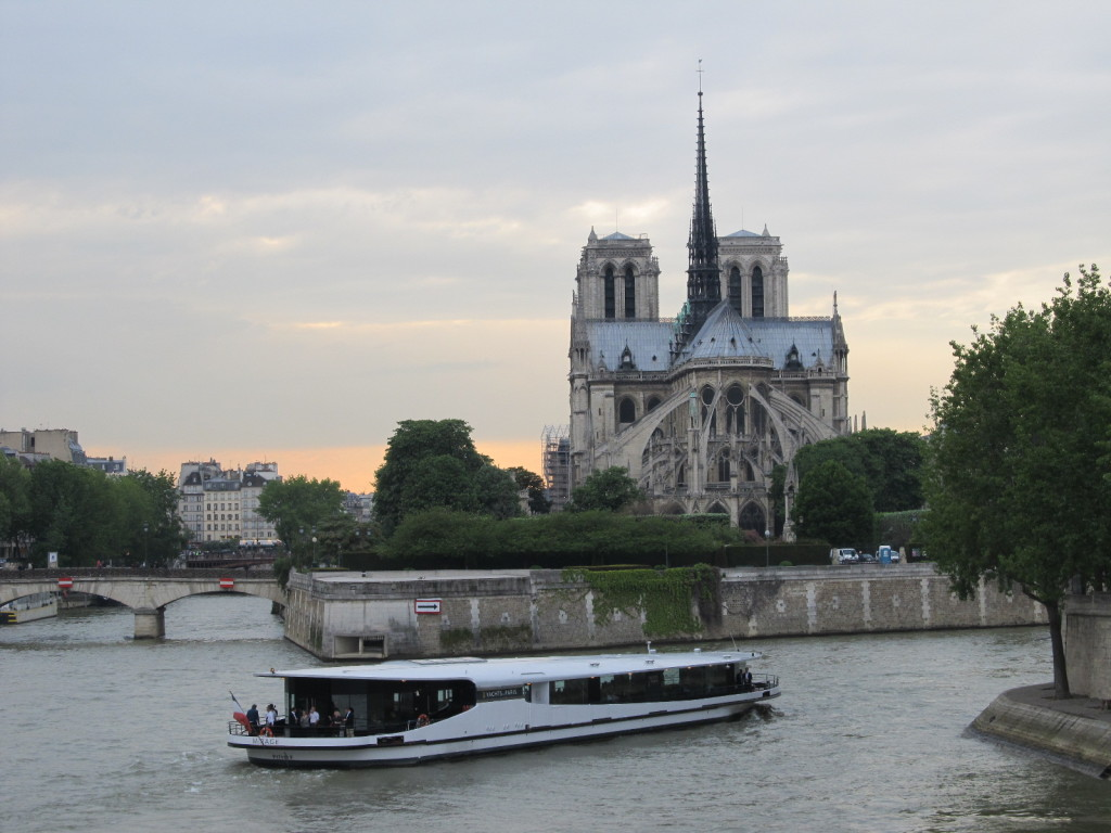 View from Ile Saint Louis