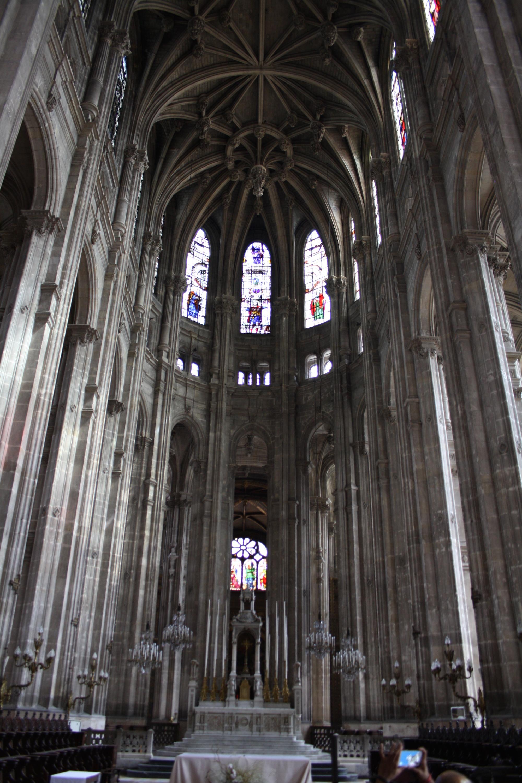 One day in the 1st arrondissement for Domon saint eustache