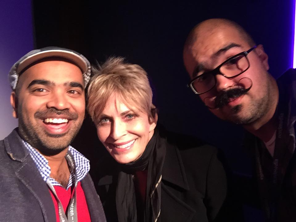 Highlight of the festival was meeting the luminous Joanna Cassidy