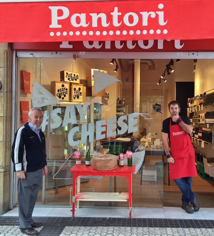 Pantori is the pickup point for the bikes plus also a place to buy some fantastic local cheese and meet some characters