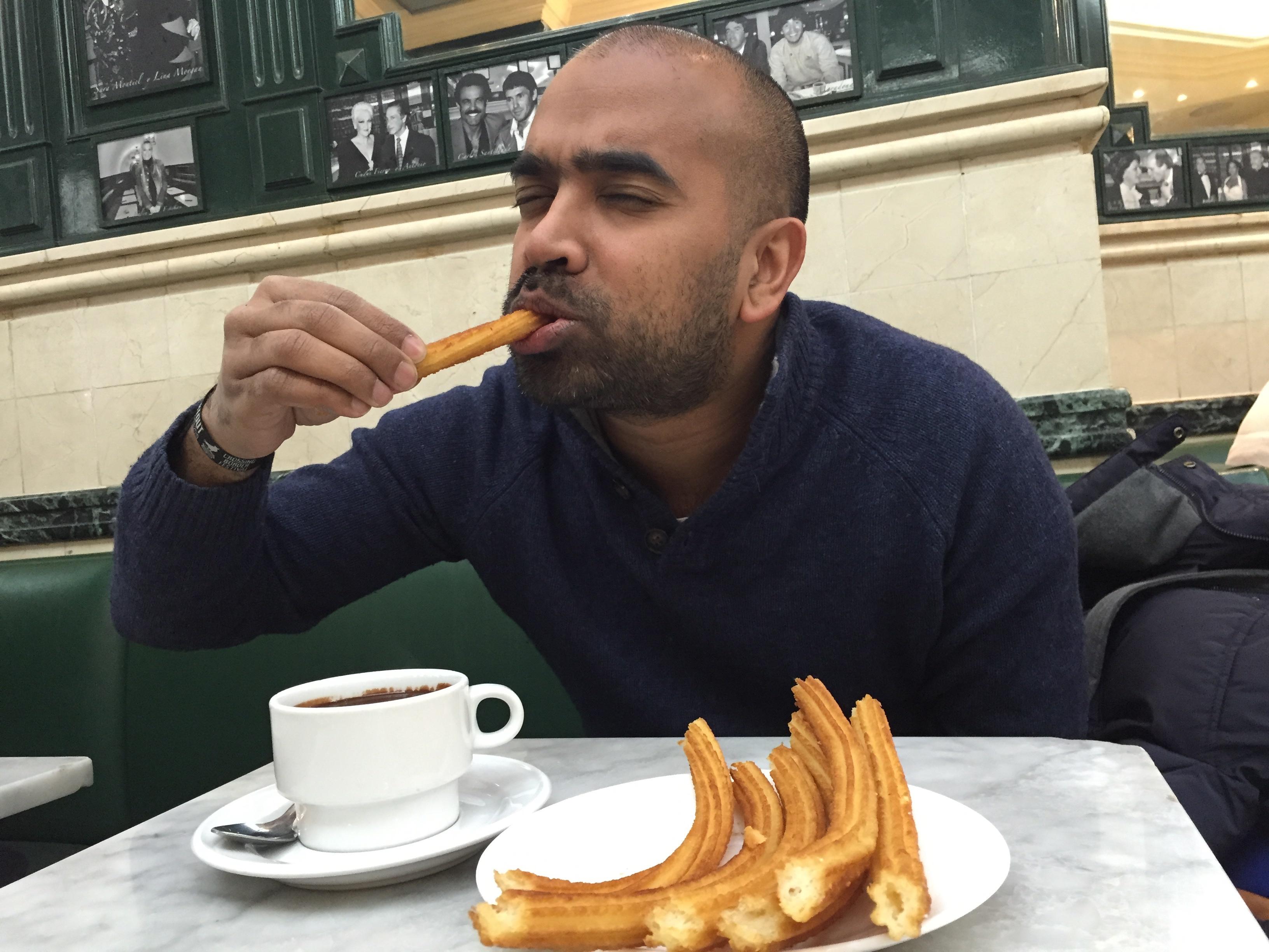 Chocolateria San Gines Madrid