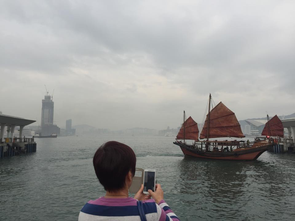 Last photograph: Dhow boats no longer ply the harbour in numbers but you can still see them and hire them. This photograph was my favourite...moment I knew I had finally come to Hong Kong.