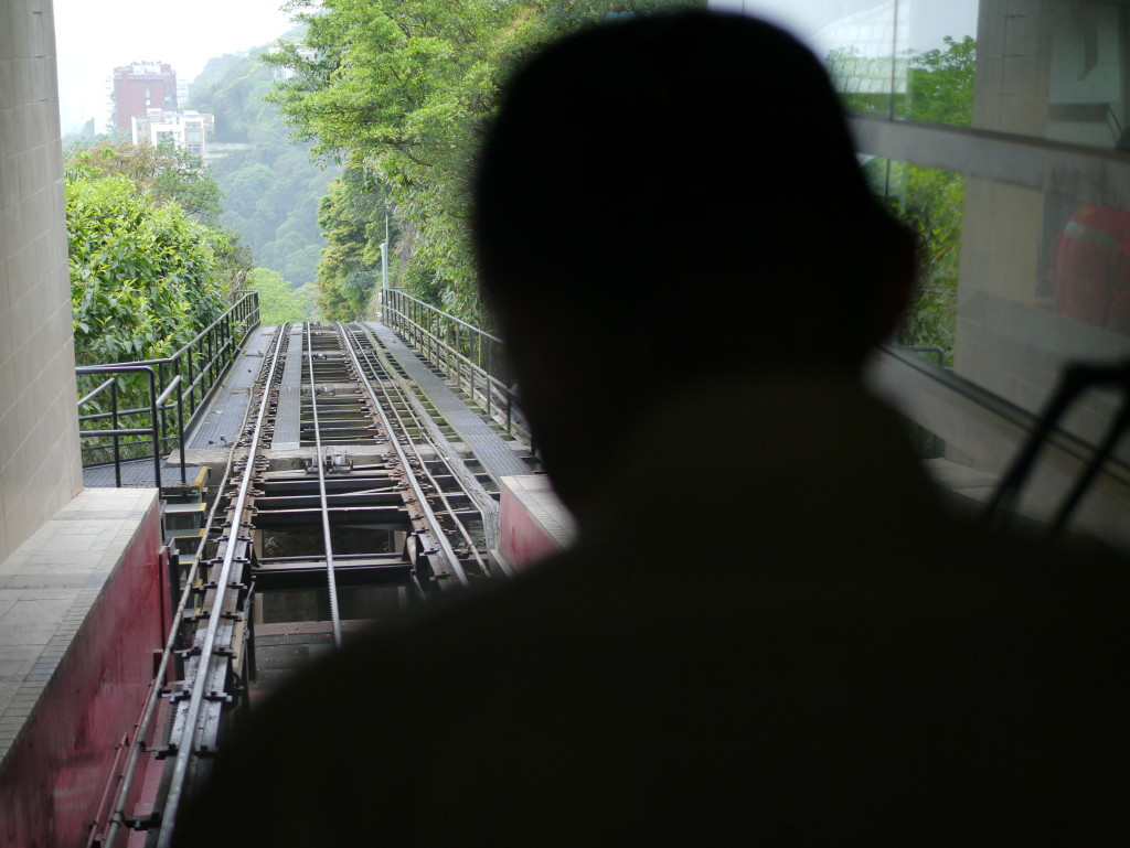 Ride up Victoria Peak on the historic Peak Tram- must do when in Hong Kong.