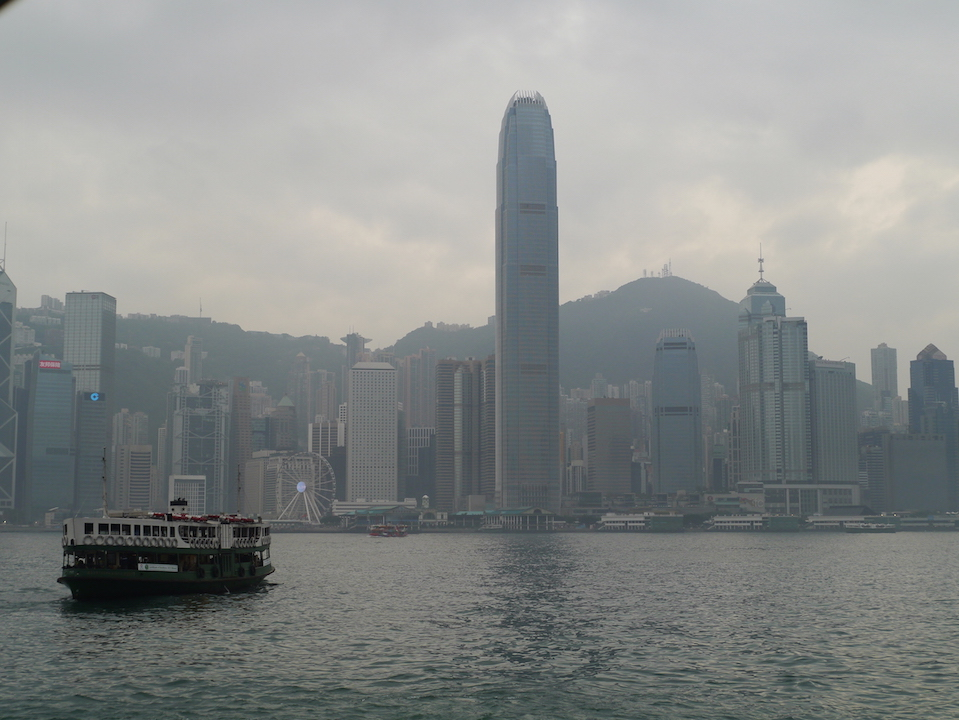 Riding the Star Ferry across Victoria Harbour was definitely one of the highlights of the trip
