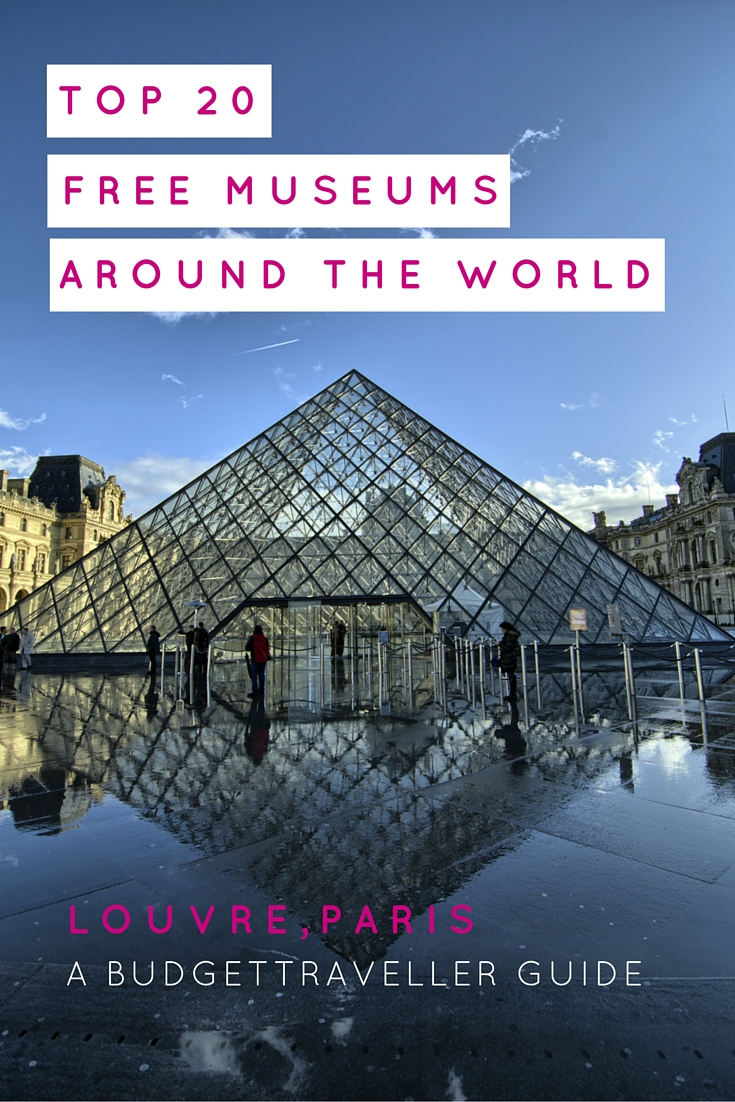 Top 20 free museums around the world for Top ten museums in the world