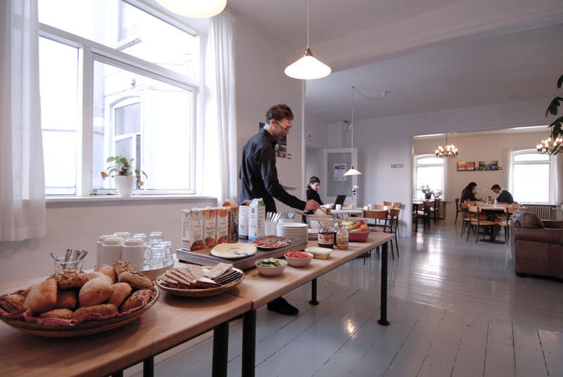 Breakfast. City Sleep-In hostel, Aarhus