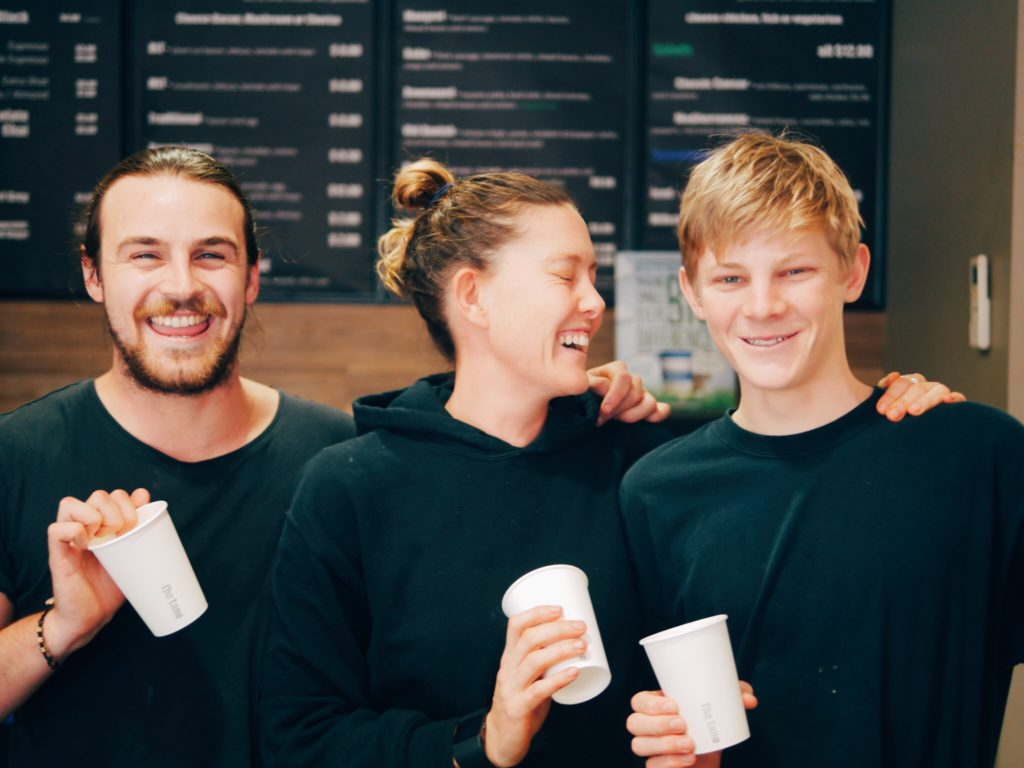 Awesome team the Lane Cafe, Rottnest Island