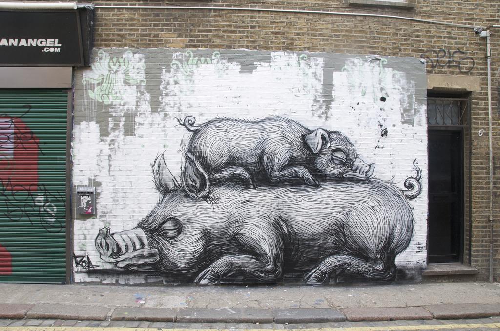 Khám phá nghệ thuật đường phố độc đáo tại Đức 4008473729 d137c47048 b