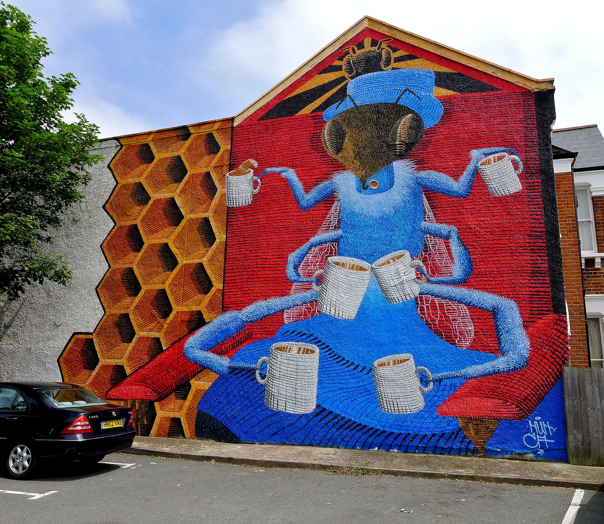 Khám phá nghệ thuật đường phố độc đáo tại Đức 9448746686 856140093f k