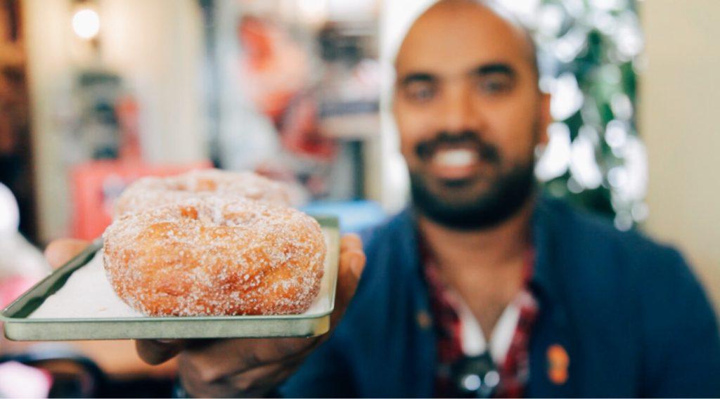 Best doughnuts in Finland!