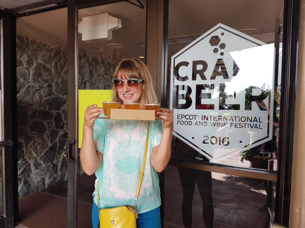 Epcot International Food Wine Festival: Craft beer tasting