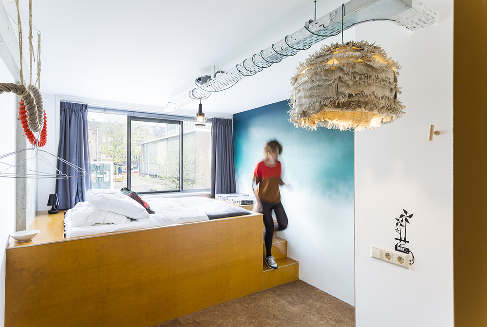 doubleprivatedeluxeroomecomamaamsterdamboutiquehostel