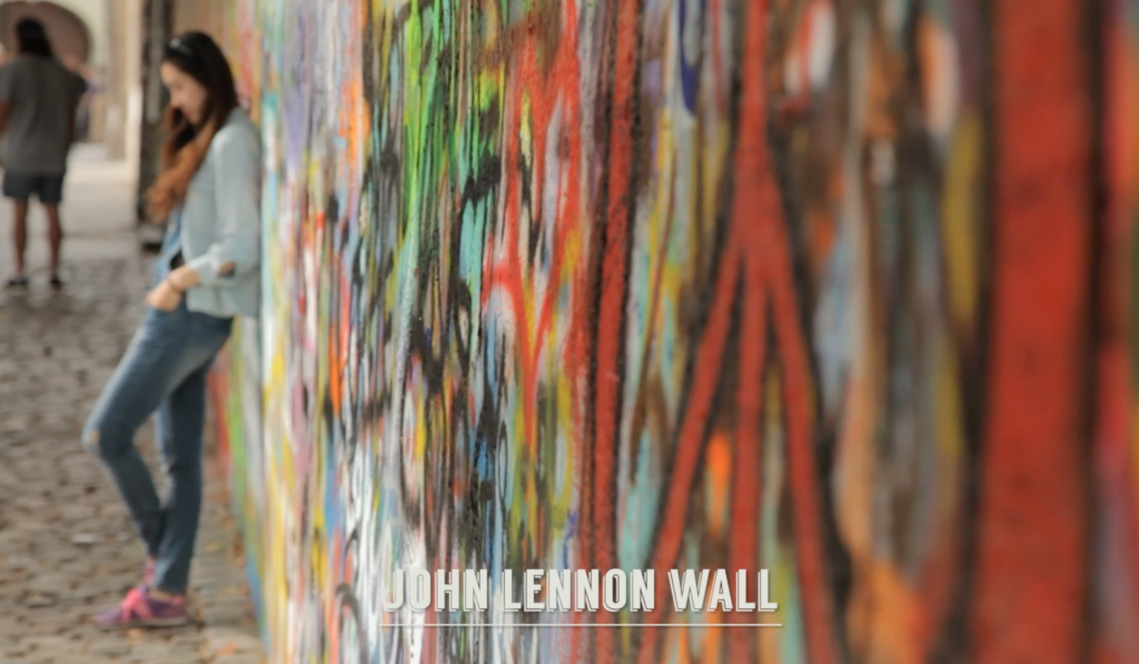 cool things to do in Prague: John Lennon Wall