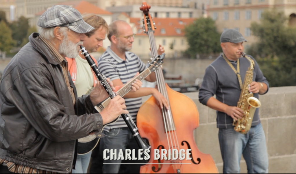 Musicians, Charles Bridge Prague