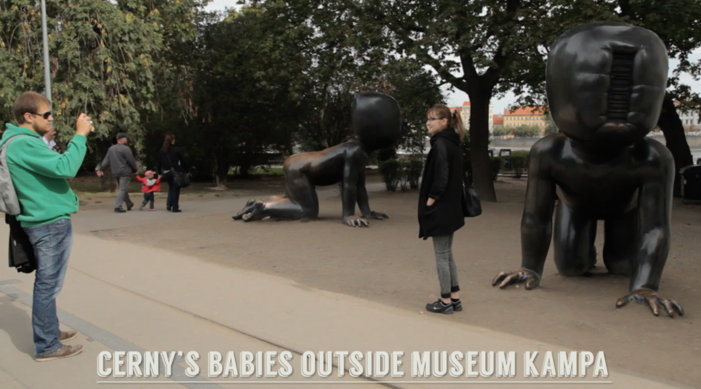 Cerny's babies Museum Kampa
