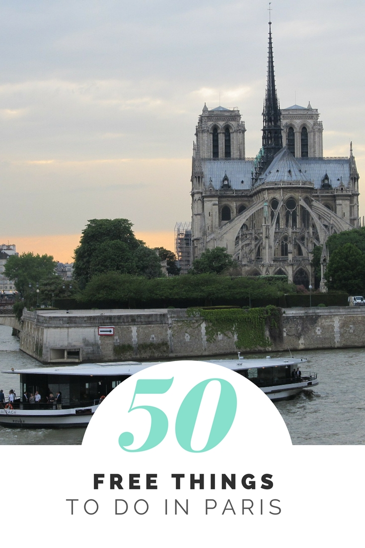 50 Free Things to Do in Paris