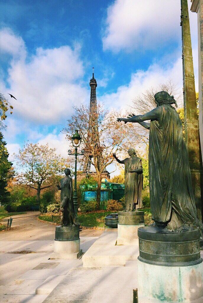 Parc du Champ De Mars Paris