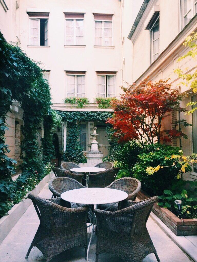 Hôtel d'Angleterre Paris