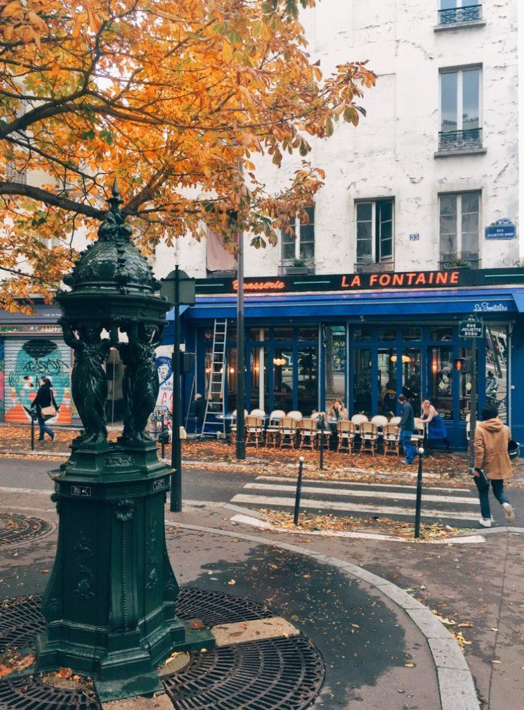 La Fontaine de Belleville Paris  Khám phá mùa thu lãng mạn tại Paris thumb IMG 3712 1024