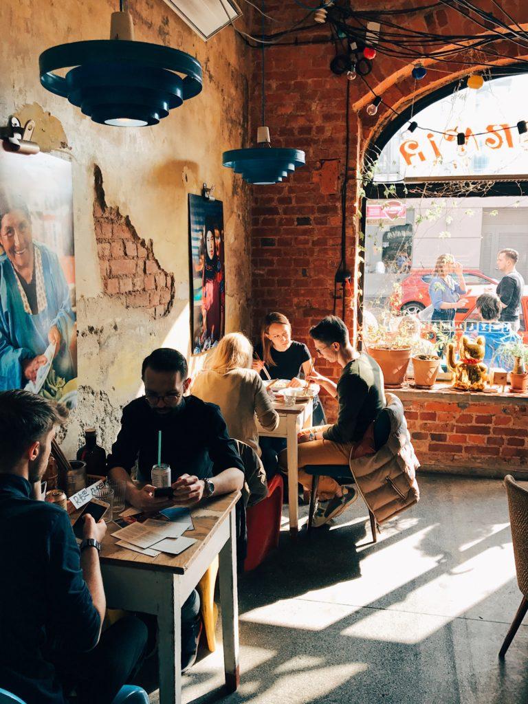 Cafe La Ruina i Raj Srodka