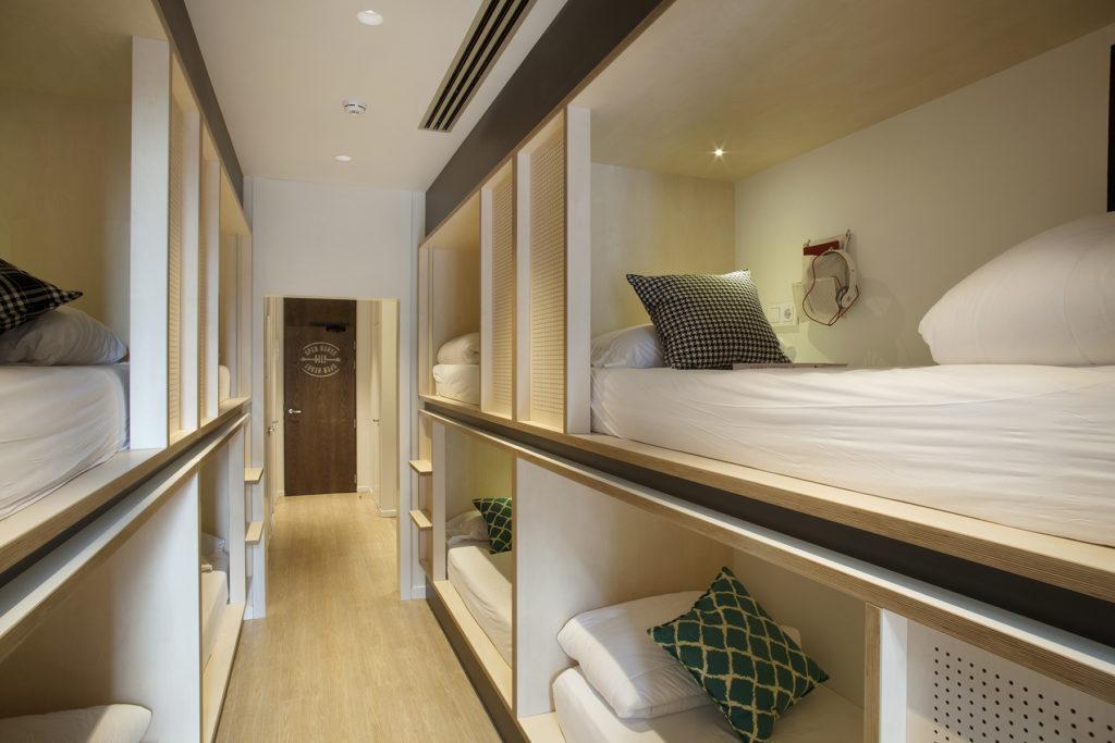 6 bed dorm TOC Hostel