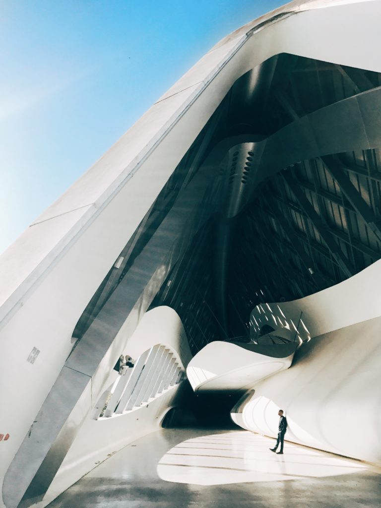 Zaha Hadid Bridge Pavillion