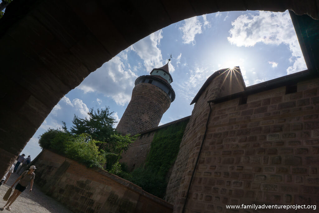 Imperial Castle of Nuremberg and Sinwell Tower